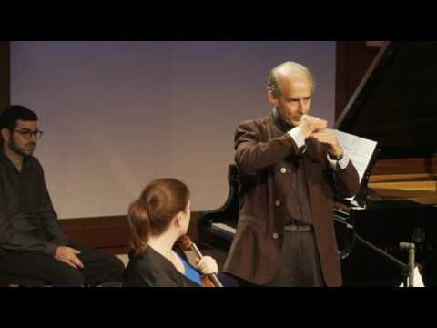 Inside Chamber Music with Bruce Adolphe - Ravel Piano Trio in A minor