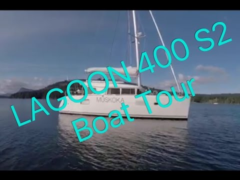 "Finally, The Lagoon 400 S2 Catamaran Boat Tour! Ep 15 Sailing ""Off the Starboard Hull"""