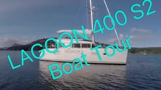 Finally, The Lagoon 400 S2 Catamaran Boat Tour! Ep 15 Sailing