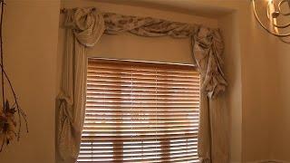 No Sew DIY Drapery Using Curtain Panels and Fabric