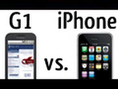 iPhone v. G1: Browsers