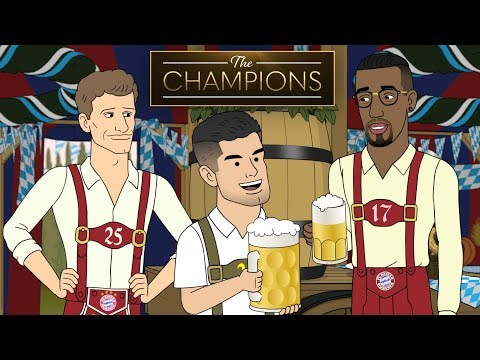 Christian Pulisic Parties at Oktoberfest | The Champions S1E4
