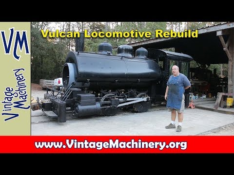 Vulcan Iron Works Steam Locomotive: Reassembly