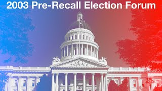 Pre-Recall Election Forum
