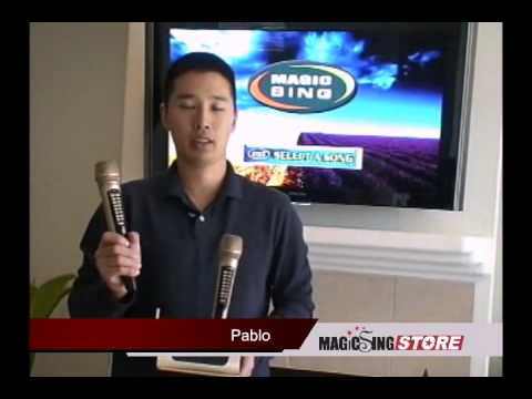 Magic Sing ET18K Karaoke Microphone