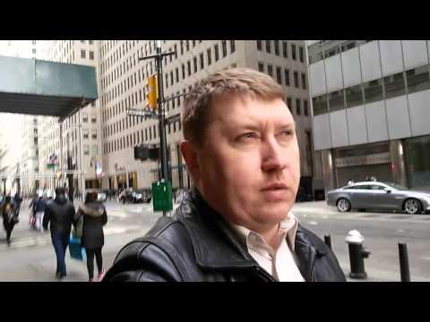 Прогулка и мысли в слух на Уолл стрит