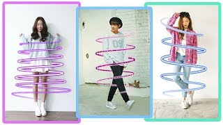 Cara Edit Foto Neon Spiral Effect | Picsart Tutorial