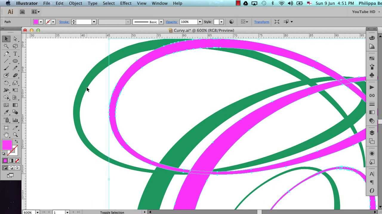 Using the Width Tool in Illustrator to create letters