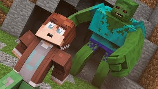 КАФЕ ПОД ГОРОДОМ ! ЗОМБИ АПОКАЛИПСИС #14 Выживание в майнкрафт - Minecraft Zombie Apocalypse