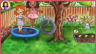 Історії іграшка для дітей - Кеті неділю Частина 1 - Мій playhome додаток
