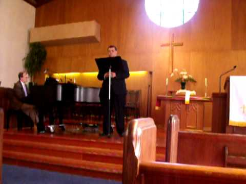 Sidney Charles Ragland Jr. Singing Avamaria