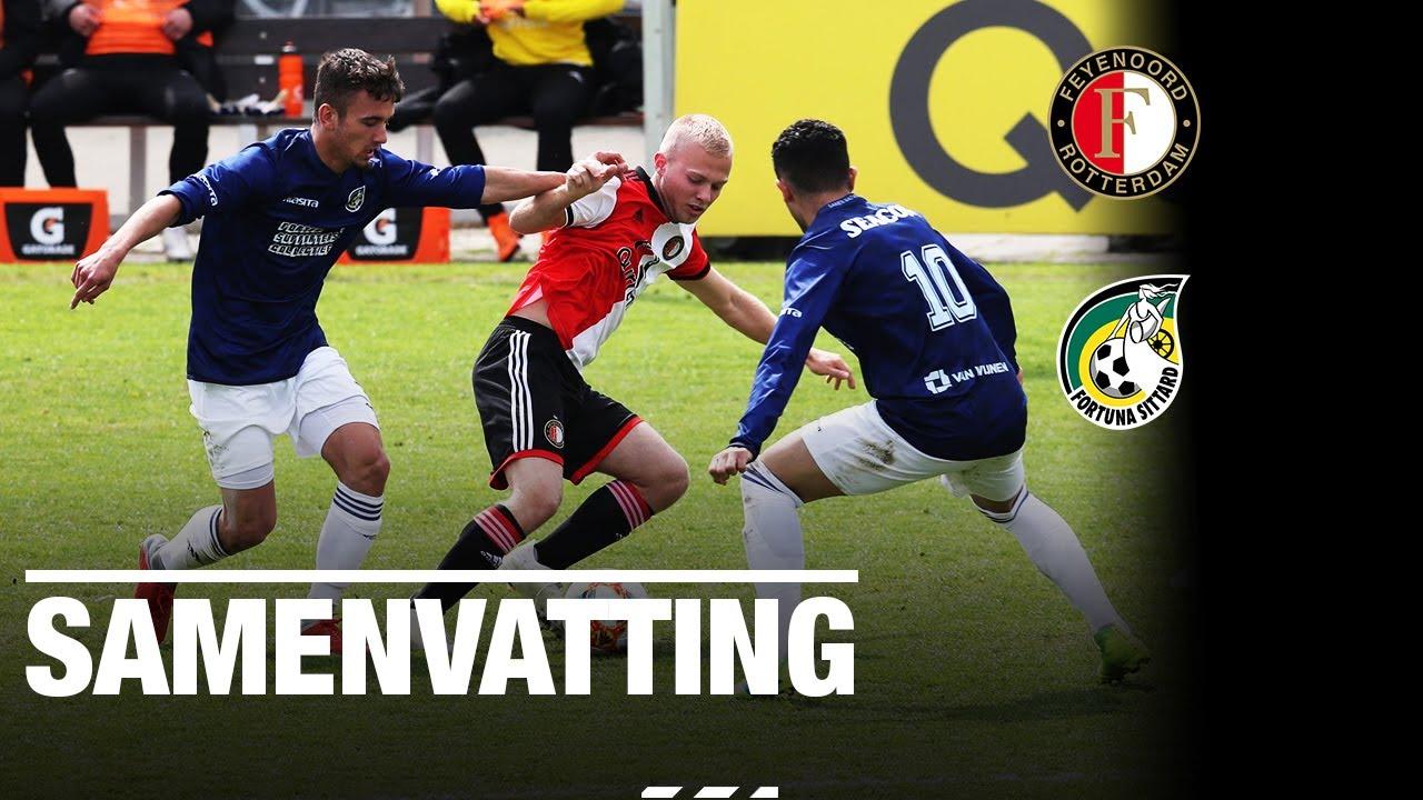 Samenvatting Jong Feyenoord Jong Fortuna Sittard Youtube