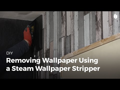 How to Remove Wallpaper with a Steamer | DIY Projects