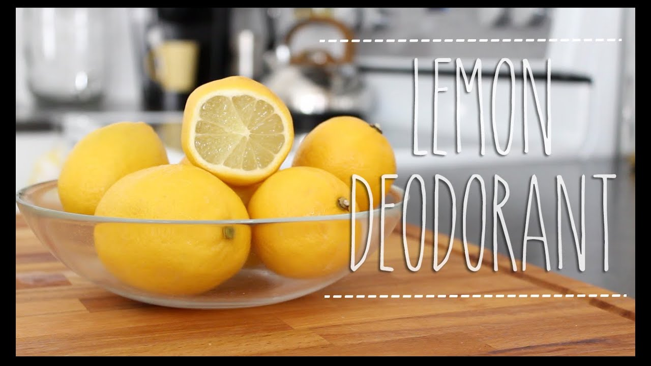 Etonnant DIY | Naturally Get Rid Of Body Odor!   YouTube