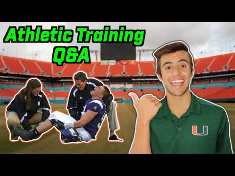 ATHLETIC TRAINING Q&A: EVERYTHING  YOU WANTED TO KNOW ABOUT ATHLETIC TRAINING!