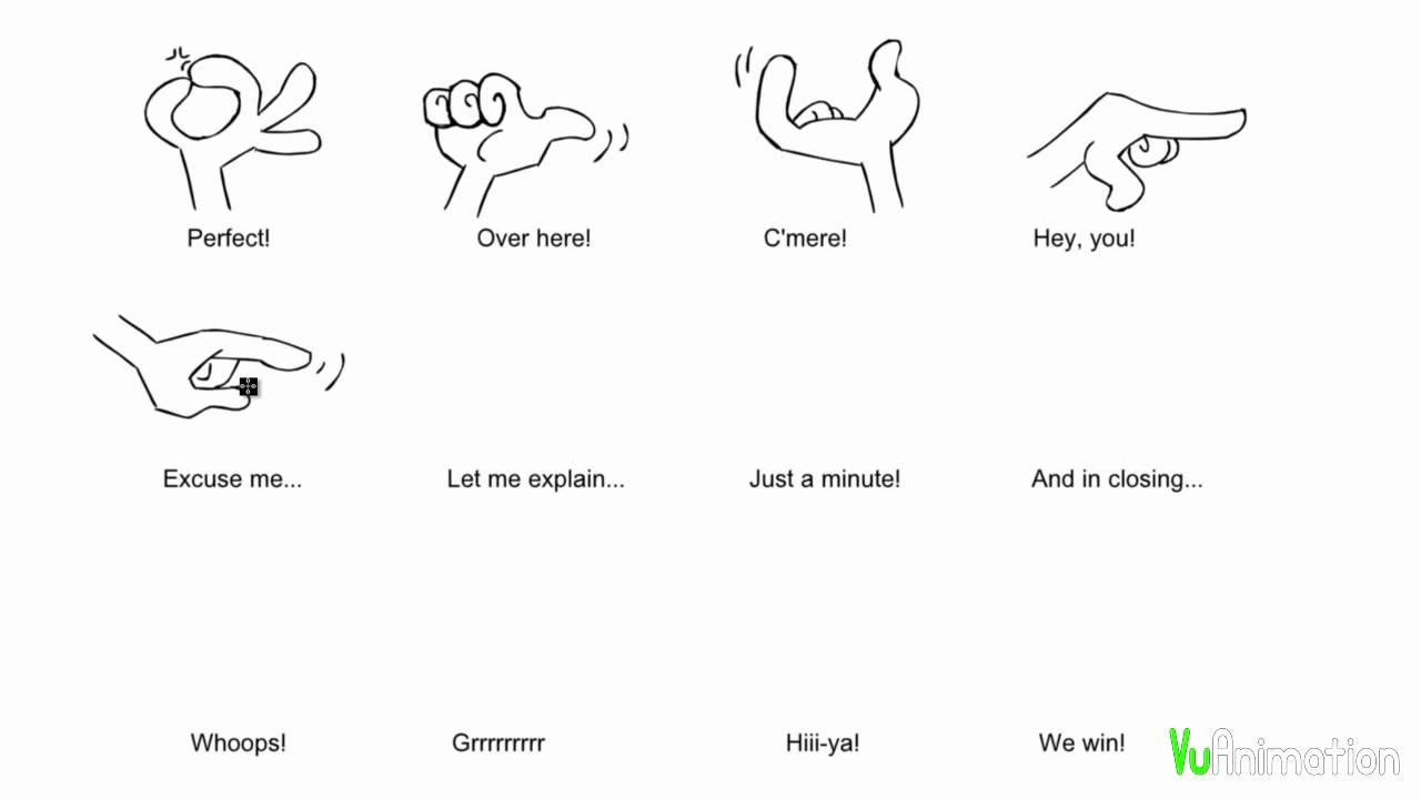 How To Draw Cartoon Manga Hands Part 2 Youtube