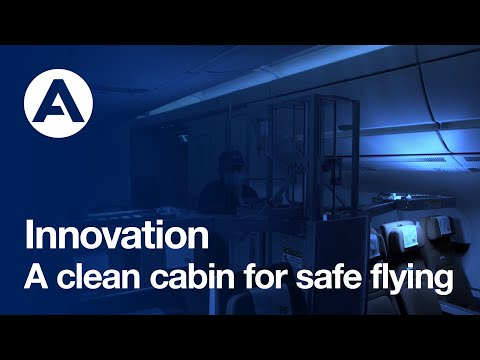 A clean cabin for safe flying