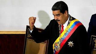 مادورو يؤدي القسم الدستوري قبل ستة أشهر من موعده الرسمي…