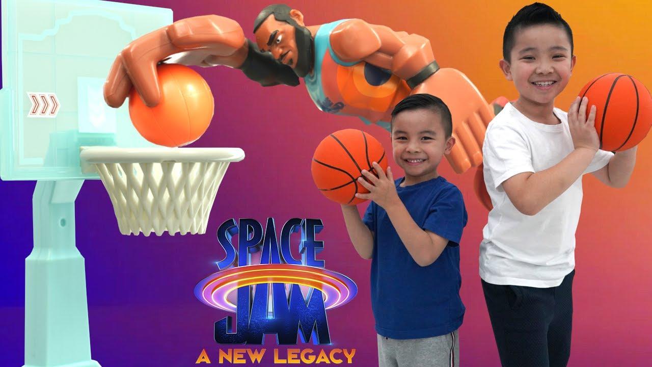 Crazy Trick Shots Space Jam A New Legacy Toys CKN