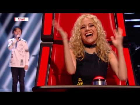 Dublin 12 Year Old Wows The Voice Coaches! - Big Interview
