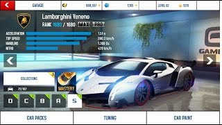 Farming in Asphalt 8 with Max+Pro Lamborghini Veneno