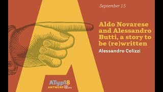 Alessandro Colizzi - Aldo Novarese and Alessandro Butti, a story to be rewritten