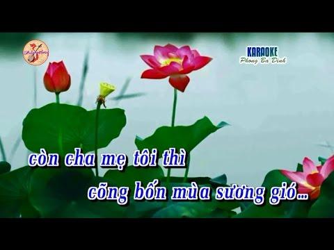 Tân Cổ: Công Ơn Cha Mẹ (dây kép) - [Karaoke]