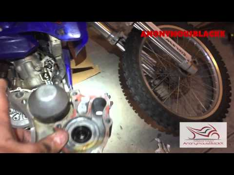 2003 YZ250 Water Pump Seal Replacement