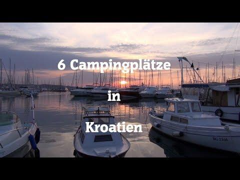 6 Campingplätze in Kroatien
