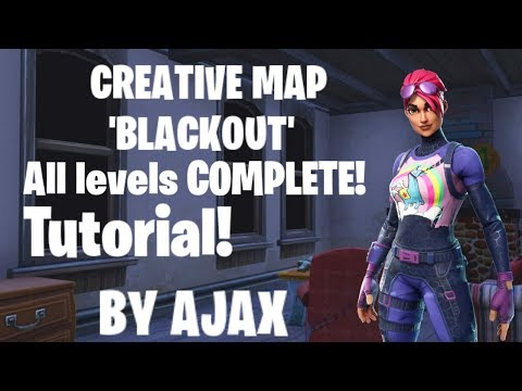 HOW TO COMPLETE BLACKOUT WITH ALL 10 MED KITS | FORTNITE CREATIVE