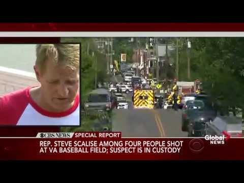 Senator Jeff Flake describes chaos following shooting at congressional baseball practice