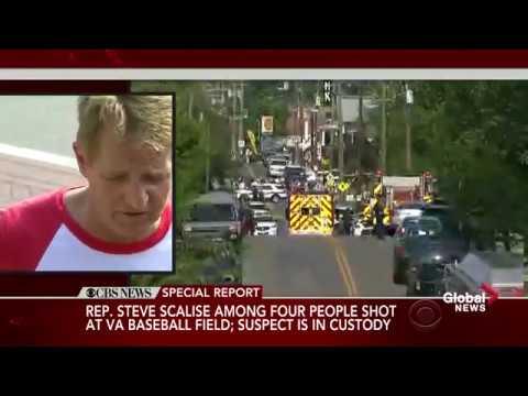 Senator Jeff Flake describes chaos following shooting at congressional baseball practice