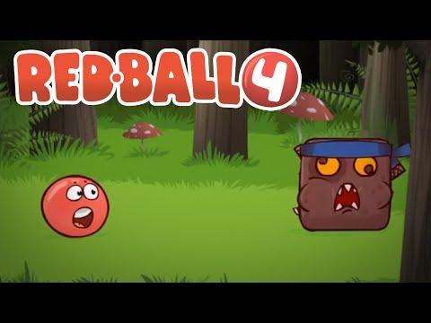 Red Ball 4 - FDG Mobile Games GbR DEEP FOREST Level 26-30 BOSS Walkthrough