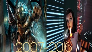 Evolution Of Bioshock Games 2007-2016