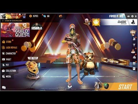 Live Global Squad Heroic Rush Rank Gameplay Garena Freefire Live