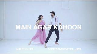 Gambar cover Main Agar Kahoon | Reejuta Joshi x Pranav Patel | Song by Sonu Nigam & Shreya Ghoshal