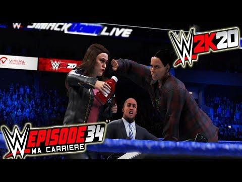 WWE 2K20 MA CARRIERE #34 - SIGNATURE DE CONTRAT EXPLOSIVE