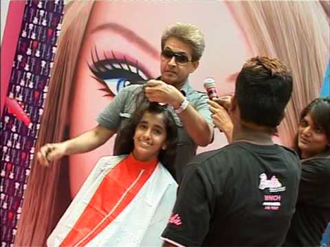 Barbie Gets A makeover from Jawed Habib - Bollywood News - YouTube