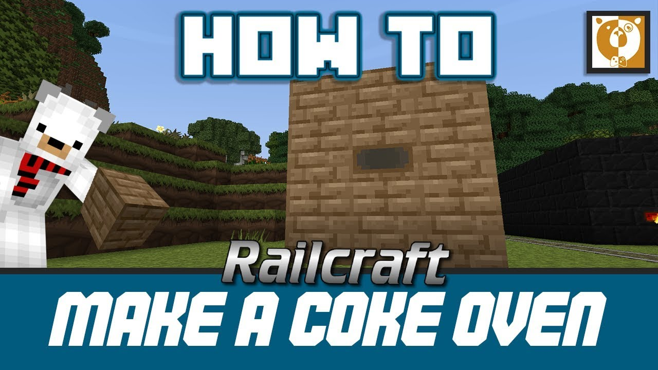 Railcraft - How to make a Coke Oven [Minecraft 1 7 10] - Bear Games How To