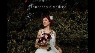 Francesca e Andrea - Tattoo punk wedding in Villa Rota