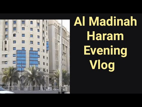 Al Haram Nabawi Sharif||Madinah Evening Vlog || Madinalivetuberirshad #madinahliveirshad