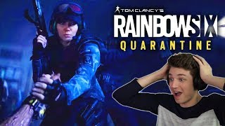 RAINBOW SIX QUARANTINE! Reaction and Gameplay for Rainbow Six Siege 'Outbreak' Spinoff Game!