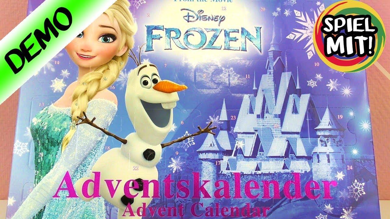 Bevorzugt Adventskalender öffnen Disney FROZEN Eiskönigin Elsa, Anna, Olaf ZS82