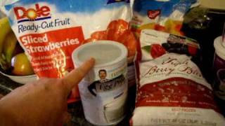 Favorites on Weight Watchers Points Plus System
