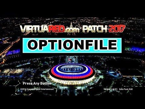 PES 2017 VIRTUARED V6.0 OPTIONFILE 29/09 BRASILEIRÃO