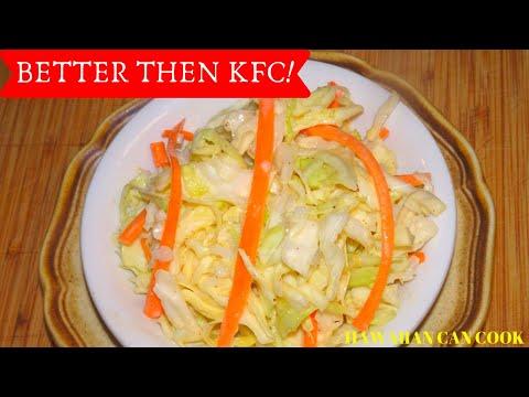 COLESLAW INSPIRED BY KFC RECIPE