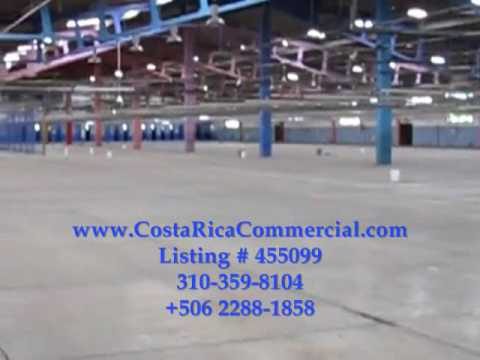 Costa Rica Commercial warehouse space for sale or rent - Heredia.wmv