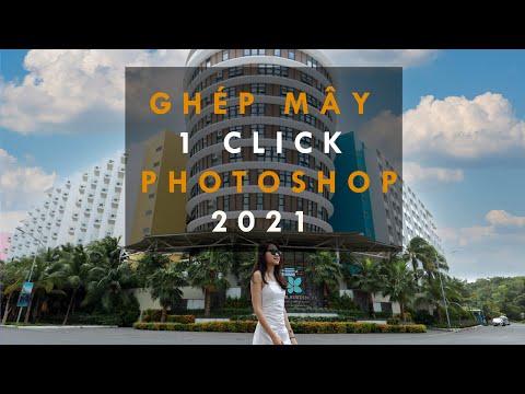 Adobe Photoshop 2021 Ghép Mây Trong 1 Nốt Nhạc   Happy New Year   Lavender Channel