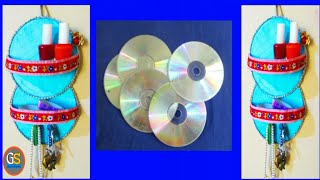 Best Use Of Old CD | CD Craft Ideas | Diy Home Decor | Genius Way To Reuse
