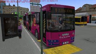 Omsi 2 Belgrade Line 15 From Zemun/Novi Grad/ To Zeleni Venac With IK 206 2012